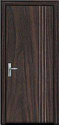 wood door of glass door series