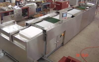 Lap sponge folding machine / laparotomy sponge folding machine/abdominal sponge machine