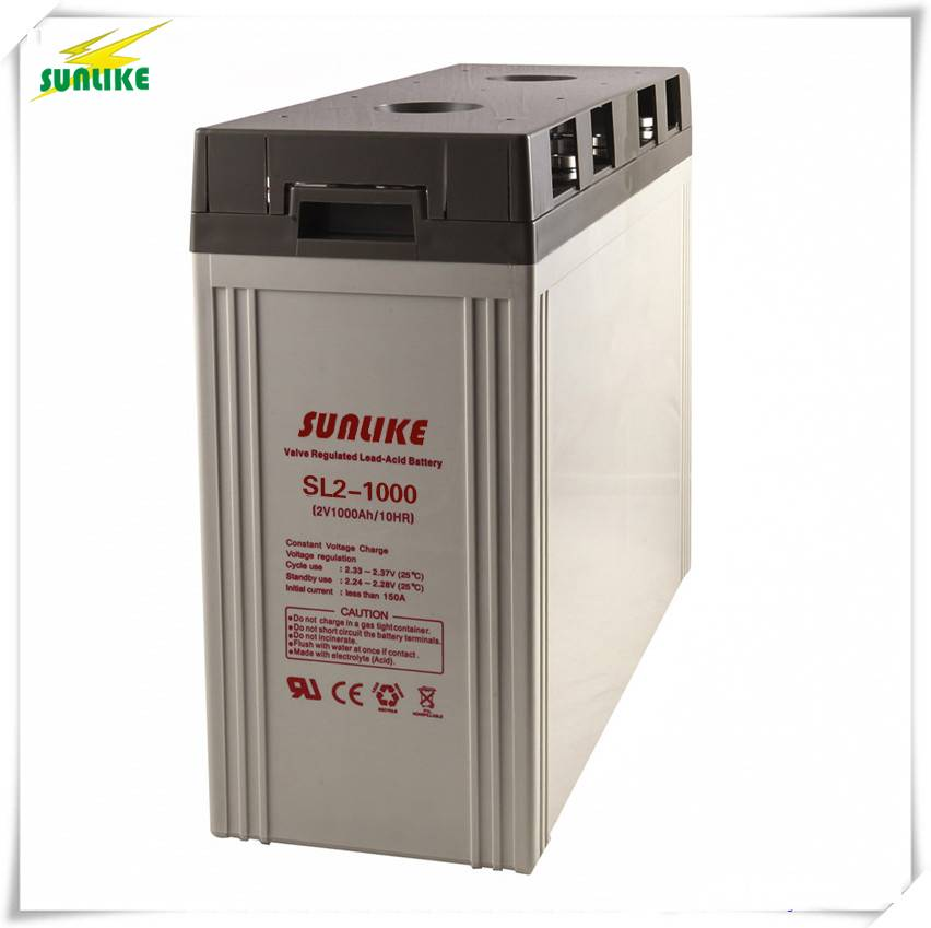 Deep Cycle 2V1000ah Battery for off-Grid System