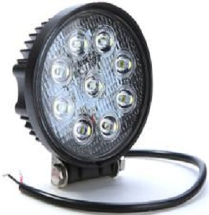 MZ 27W round 80w CRE E led work light ,super bright led working lamp for offroad vehicles SUV 4wd