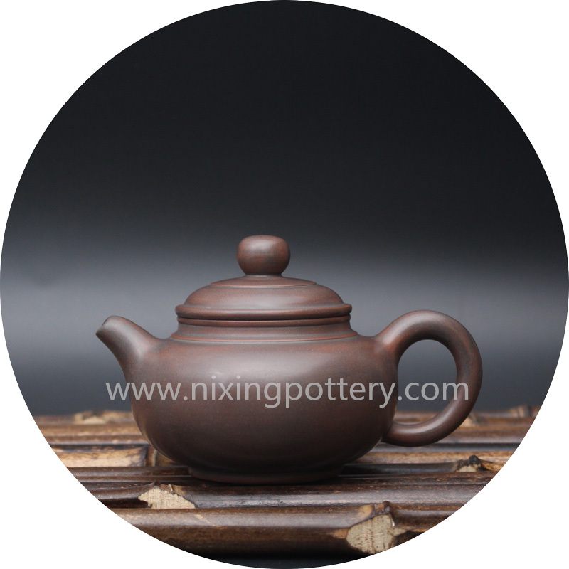 Miniature Antique Pot Qinzhou Nixing Pottery Pure Handmade Nixing Pot 100cc Small Teapot