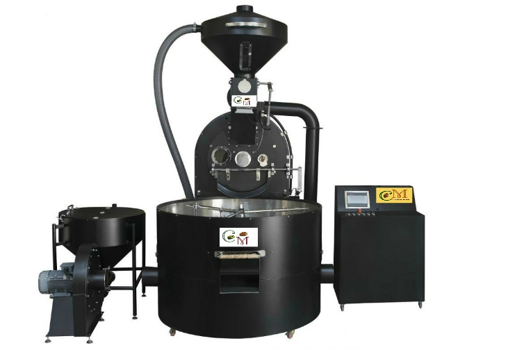 Industrial coffee Roaster 70 kg per cycle