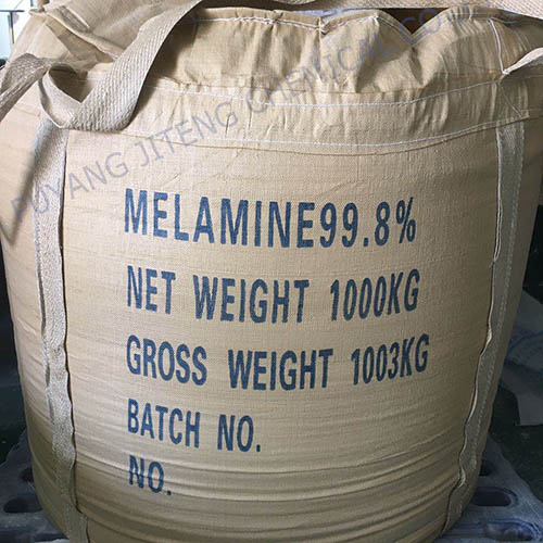 Purity whie melamine powder 99.8%
