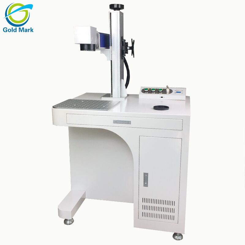 desktop type 20w fiber laser marking machine metal laser printer for aluminum copper stainless steel