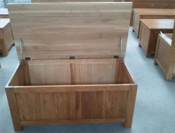 Wooden Blanket Art (Box): wooden furniture, solid oak furniture, bedroom furniture