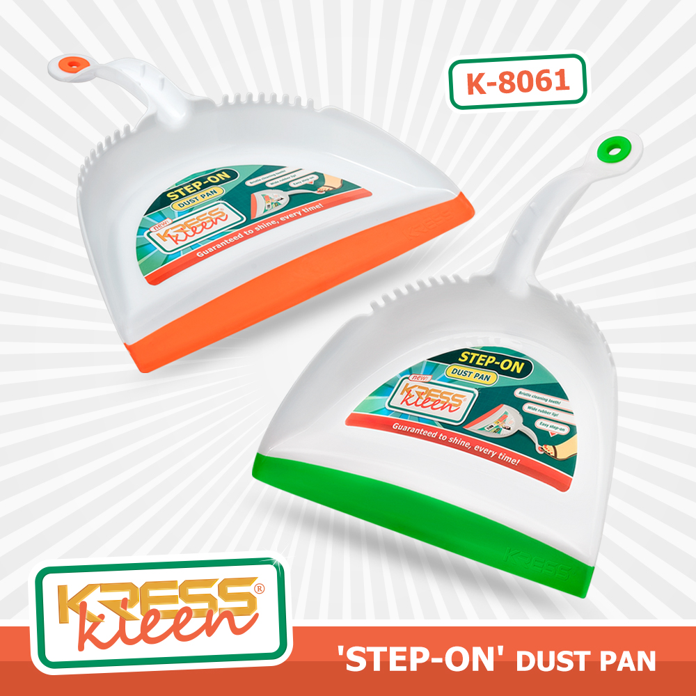 KRESS Kleen 'Step- On' Dust Pan