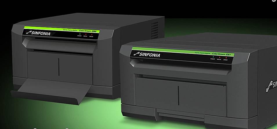 Shinko Sinfonia Color Stream CE1 Printer