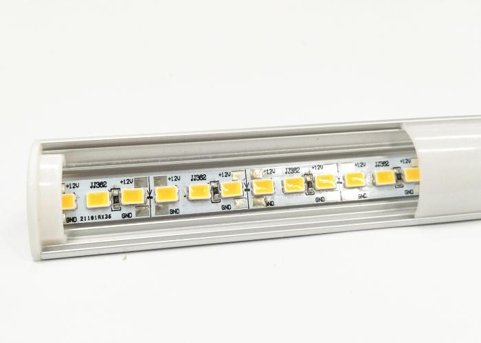 Residential Triangle Led Aluminium Extrusion Profiles 3000K Color Temperature