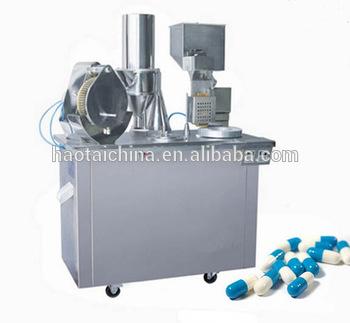 Pharmaceuticals industry semi automatic capsule filling machine price