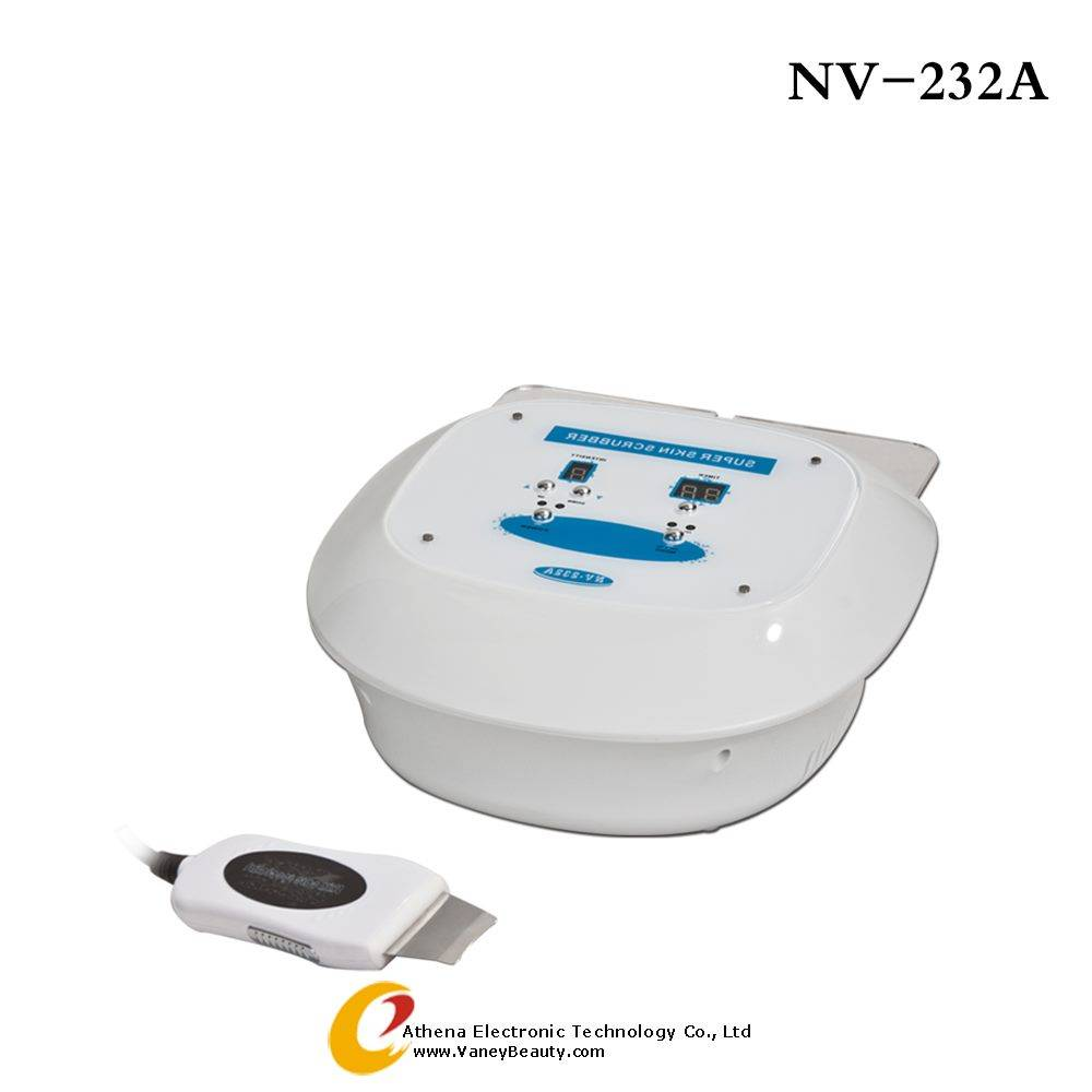professional ultrasonic skin scrubber protable beauty machine NV-232A