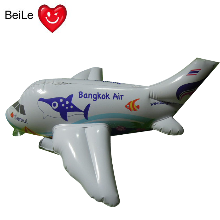 Customized inflatable air plane toy for sale