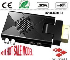 Mini Scart HD DVB-T, HD Mpeg4/H.264 DVB-T Receiver, HDMI, DVBT4420HD