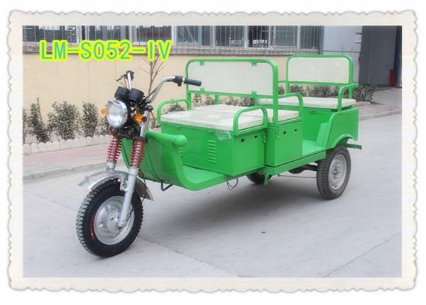Romai three wheel motocycle, battery rickshaw with CE approved