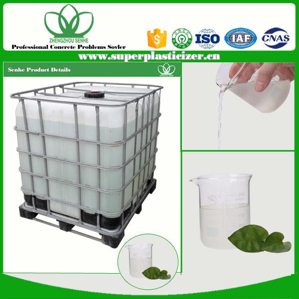concrete admixture of polycarboxylate superplasticizer price
