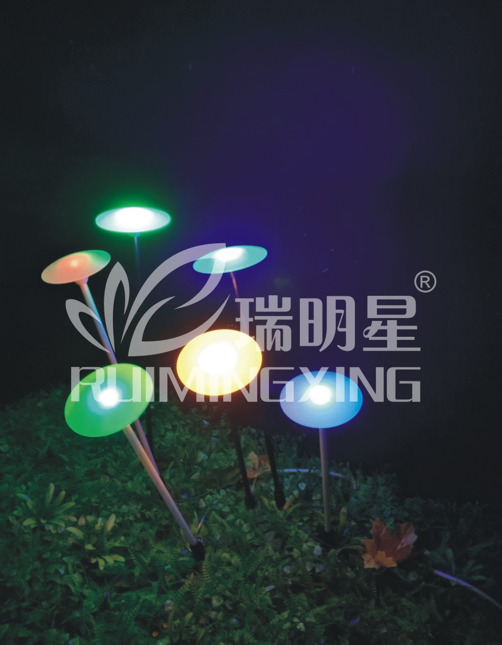 Solar UFO IP44 from zhongshan for outdoor decoration