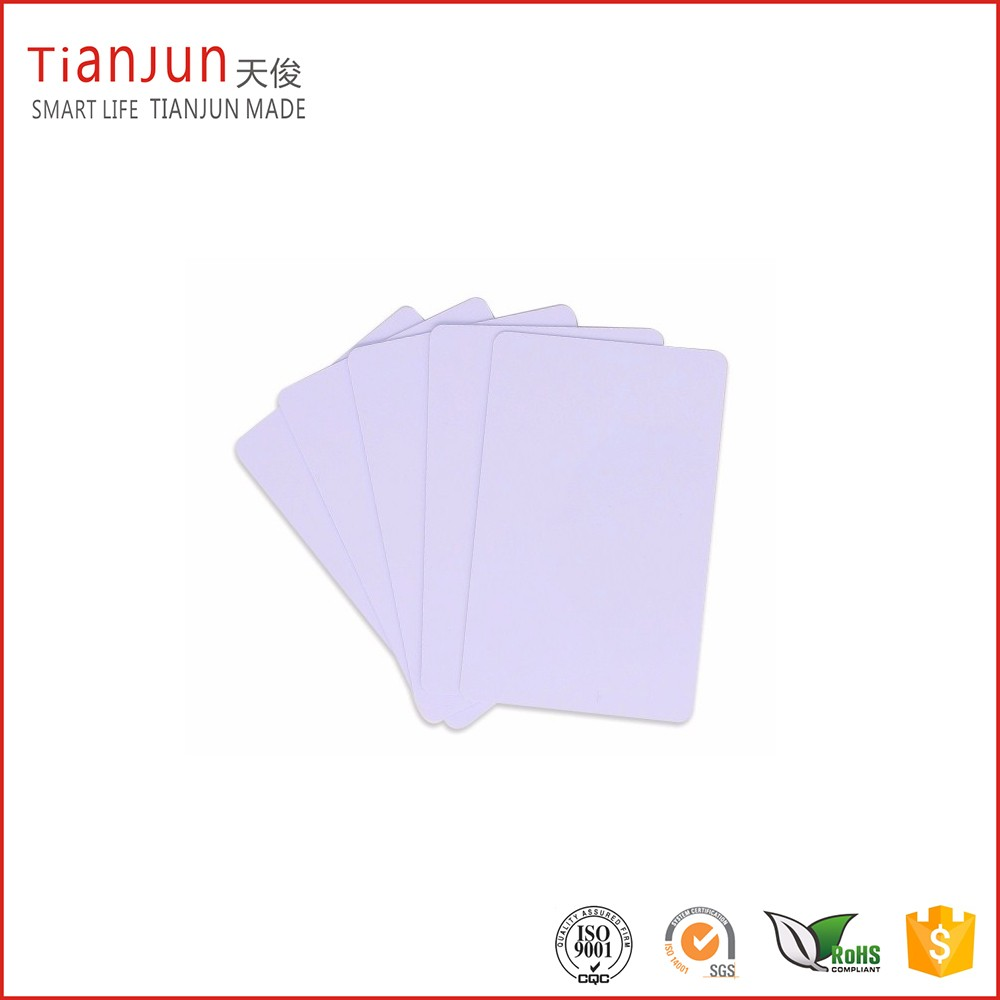 NTAG213/NTAG215/NTAG216 Printable Blank NFC Plastic Card