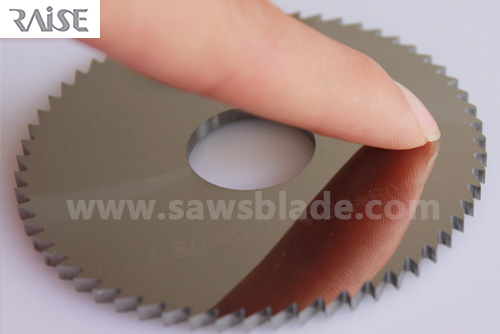 RAISE carbide slitting saw blades ,Can be customized for any size of carbide slitting saw blades