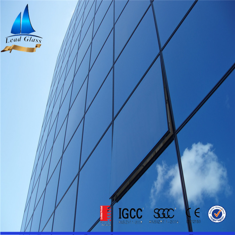 Hot sell Reflective Glass/Reflective Glass Price/Blue Reflective Glass