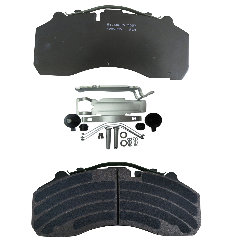 Semi-Metal Truck Spare Part Brake Pad Wva 29087/29105/29108/29278
