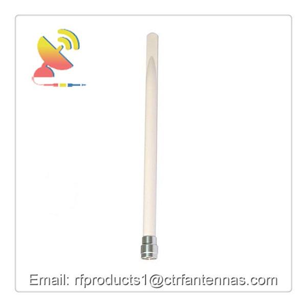 C&T RF Antennas Inc Omnidirectional Wifi 2.4G 5dBi Waterproof Fiberglass Collinear Antenna