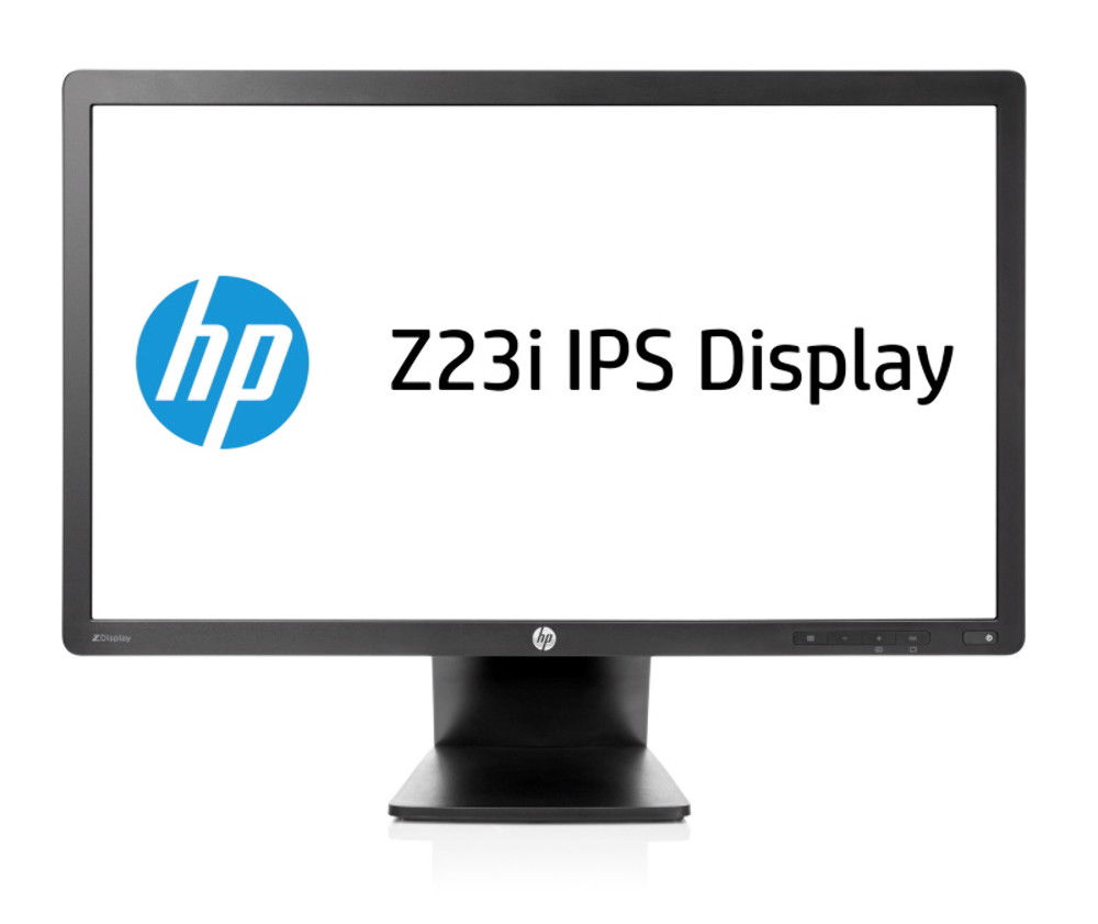 "HP Z23i 23"" Full HD IPS Matt Black computer monitor"