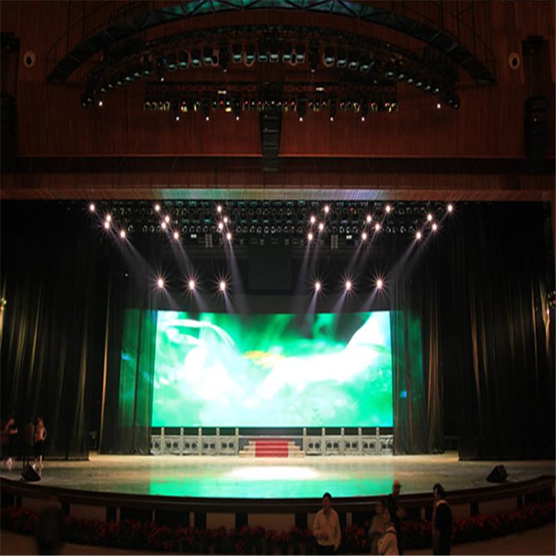 Factory in Shanghai China Trade Assurance stadium rental led display