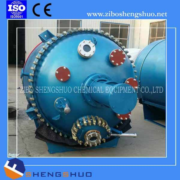 Pressure vessel glass lined reactor chemical reactor