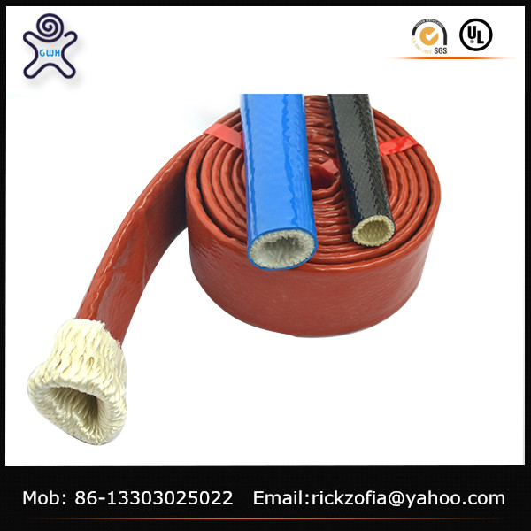 high temperature heat resistant hose cover fire sleeve