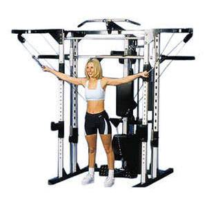 Fitness CPKG-CCO Caribou III Deluxe Package Home Gym