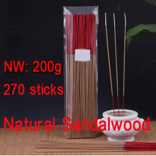 Natural Australia Sandalwood Bamboo Stick incense Joss Sticks Buddhist Temple santalwood Incense Sti