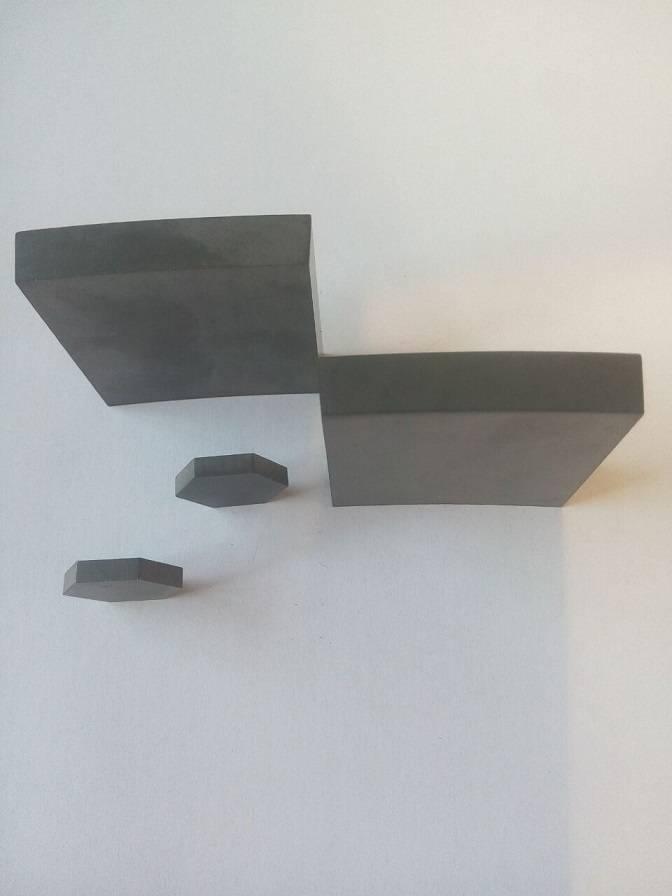 sintered sic tiles R400 50*50