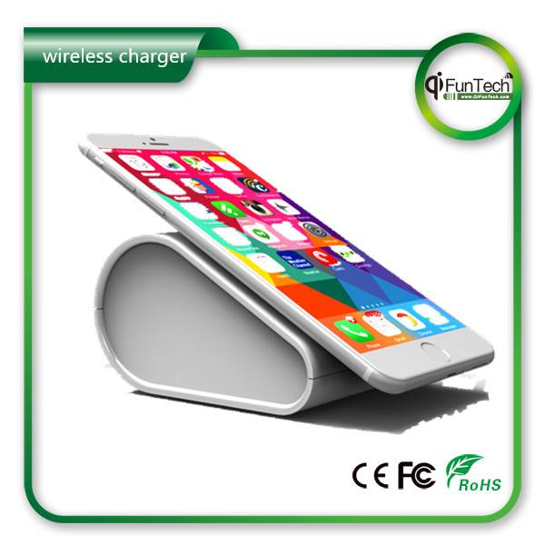 2015 New products 10400mah battery qi wireless charger power bank, Wireless mobile charger power ban