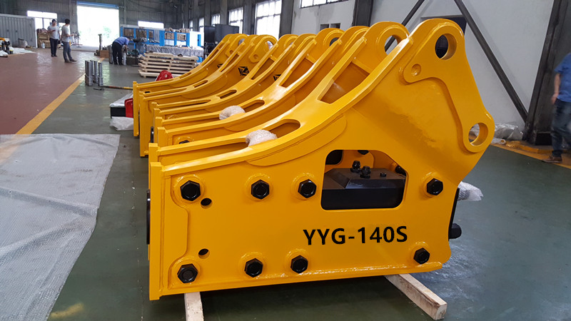 YYG long durability high precision hydraulic rock breaker hydraulic hammer for all kinds of excavato