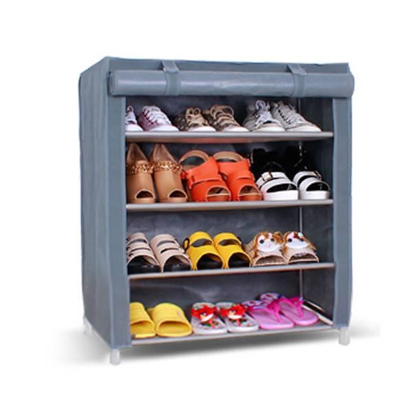 Adjustable metal organizer shoes rack plastic shoe organizer