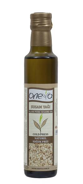 Oneva Brand First Cold Pressed Sesame Oil
