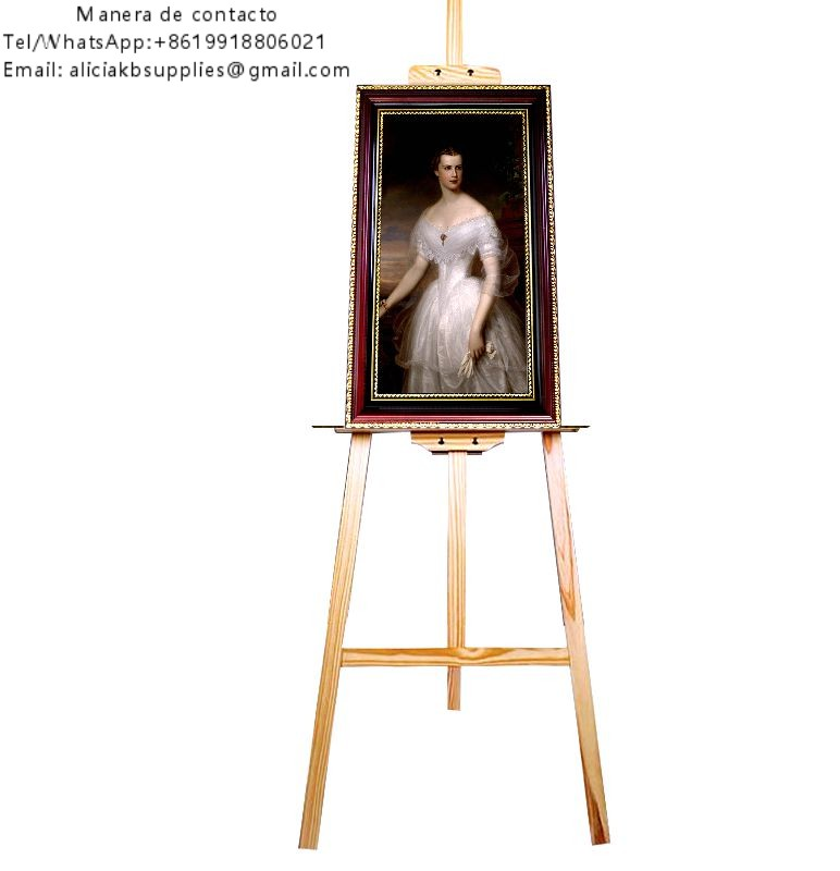 Solid wood frame digital screen portrait for funeral homes use