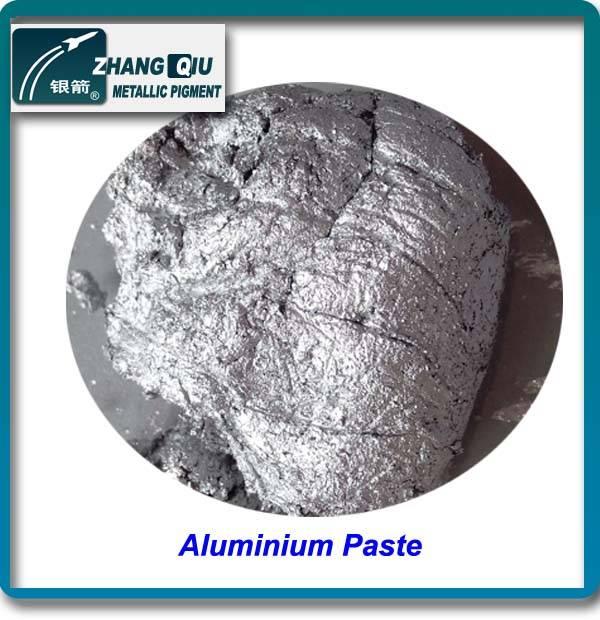 High performance silver dollar bright aluminum pigment paste
