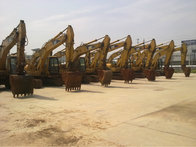 used CAT 320C Excavator,In Fairly Well Condition