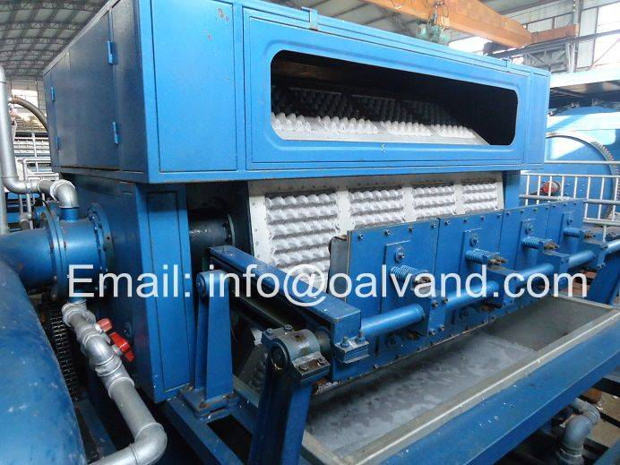 Pulp Molded Egg Tray Machine