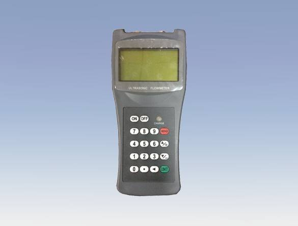 Small shape 4-20 mA Output Portable Handheld Ultrasonic Flow Meter