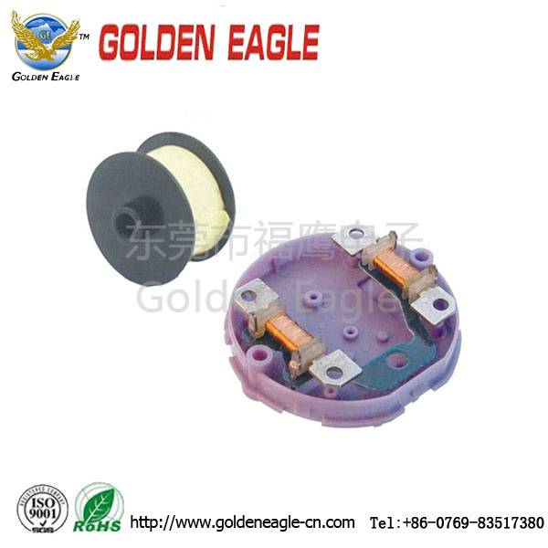 inductor coil in clock