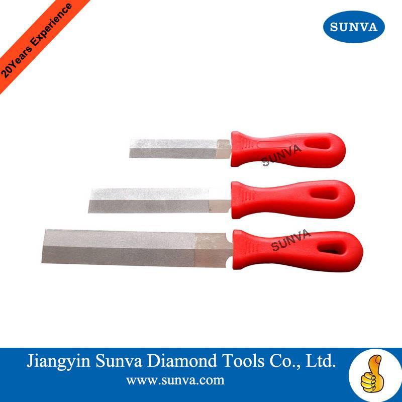 SUNVA Diamond Rhombic Files / Diamond Tools