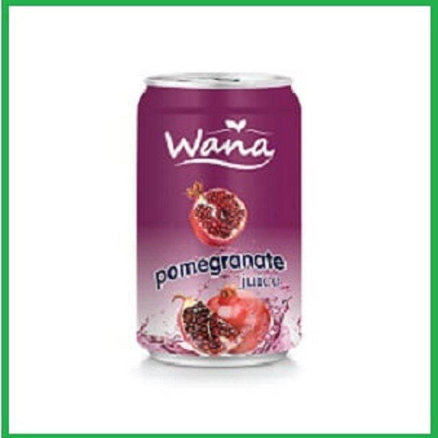 Fresh And Natural Pomegranate Juice 330ml Can