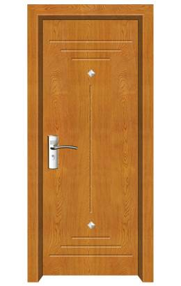 pvc coated wood door (MP-049)