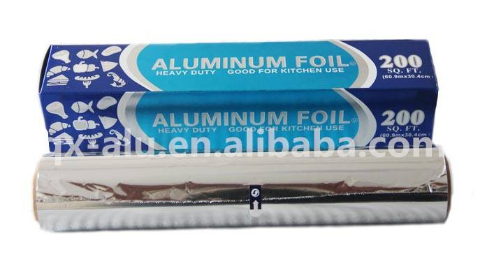 Food Packing disposable aluminium foil roll