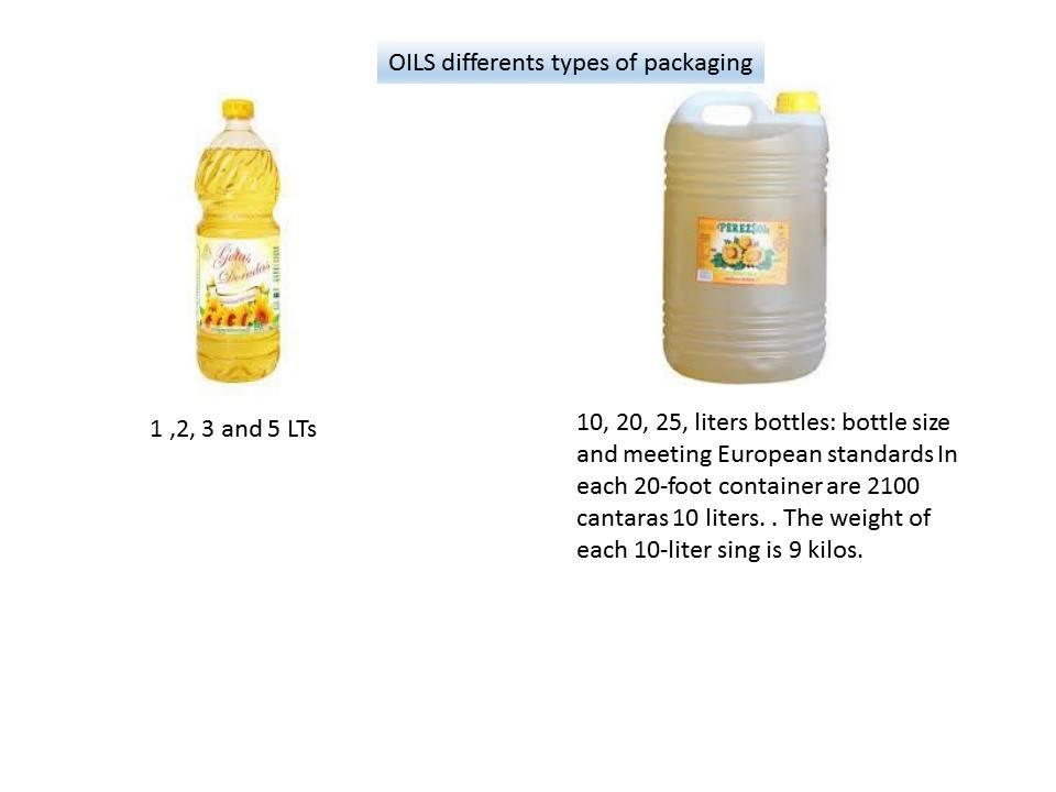 Edible & Vegetable Oils