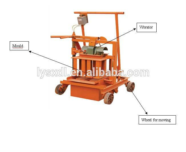 QT40-3C small brick making machine for sale