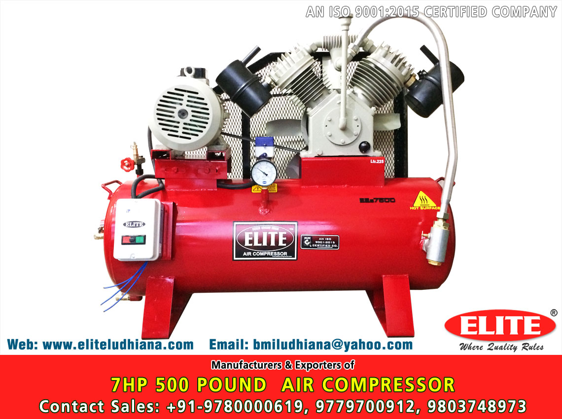 7.5HP 500 Pound Air Compressor