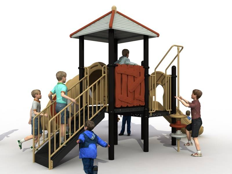 Reliable Quality Outdoor Playground Slide Landscape Series WD-JG01