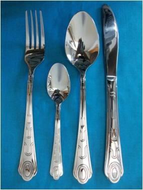 X043 Stainless steel tableware cutlery flatware